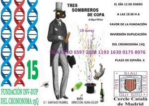 Teatro Solidario «Tres Sombreros de Copa» en el Circulo Catalán